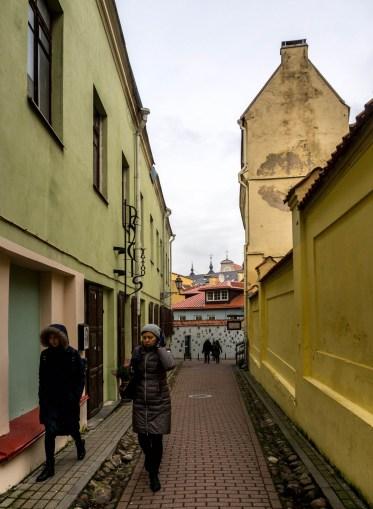 Pilies Street et Vieux Vilnius