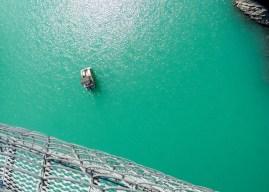 Lac Monteynard, passerelle Himalayenne