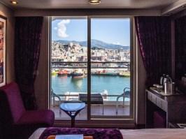 MSC Orchestra : cabine Aurea avec balcon