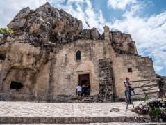 Depuis le parvis de la Madonna dell'Idriss, Matera