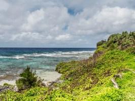 Rurutu, îles Australes : Grotte Taneuapoto