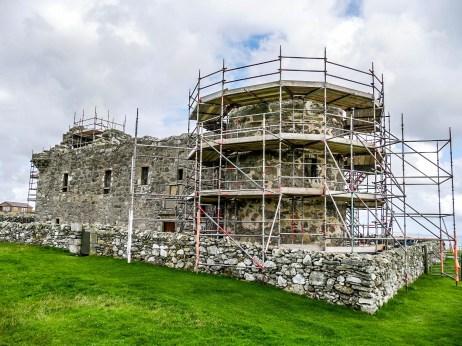 ïles Shetland, Unst : Muness Castle