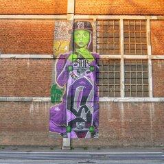 Fresque Street-ArtSide : O