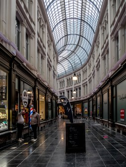 Safari Urbain Charleroi : Passage de la Bourse