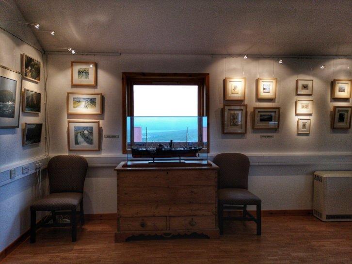 Shetland Gallery, Yell