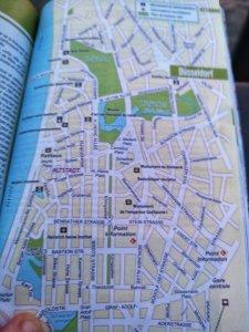 Carte transport en commun, Düsseldorf