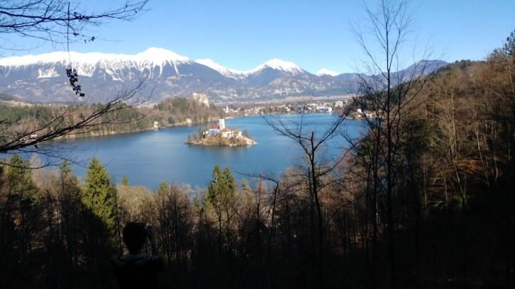 Lac Bled parPatrick de eslovenie