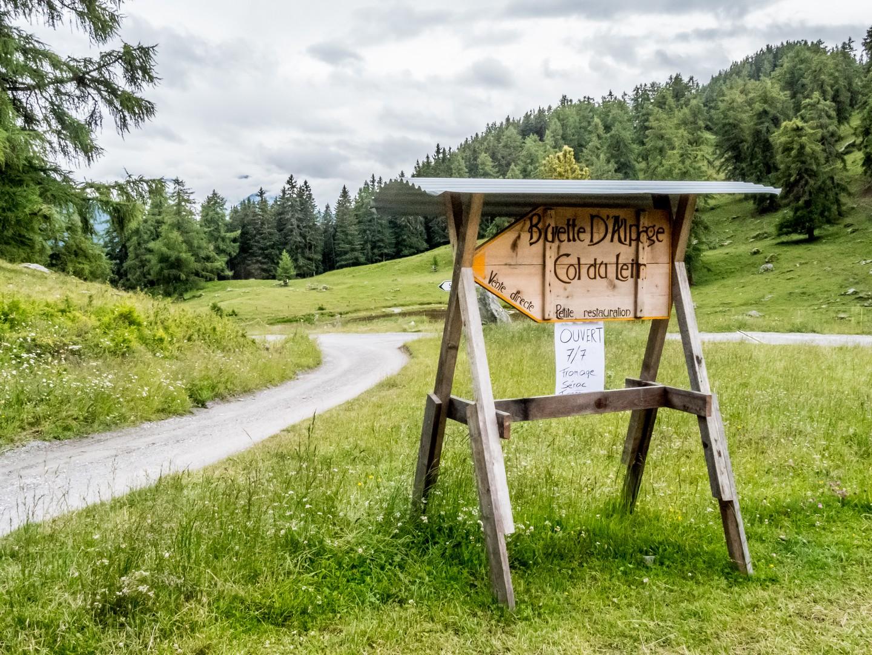 Buvette d'alpage du Col du Lein