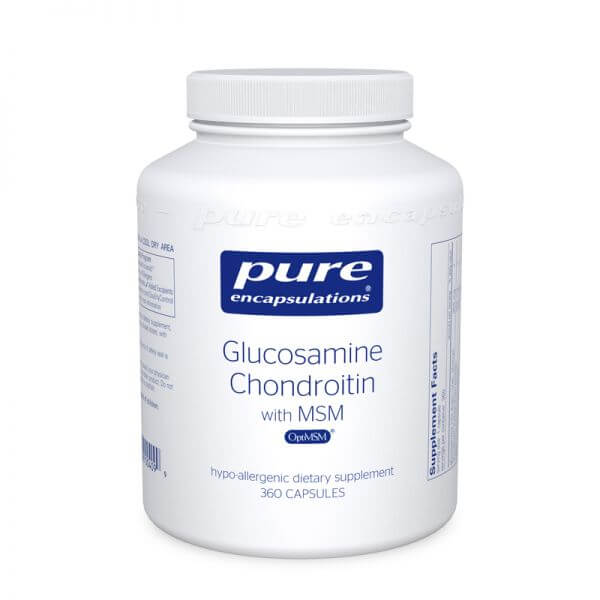 Glucosamin + Chondroitin with MSM Pure Encapsulations