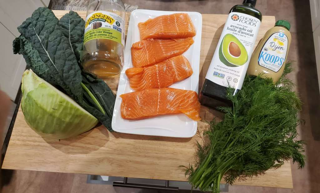 one pan salmon nutritional recipe ingredients
