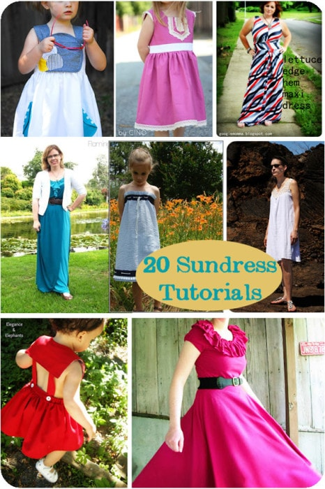 20 Tutorials to Sew a Sundress - Melly Sews