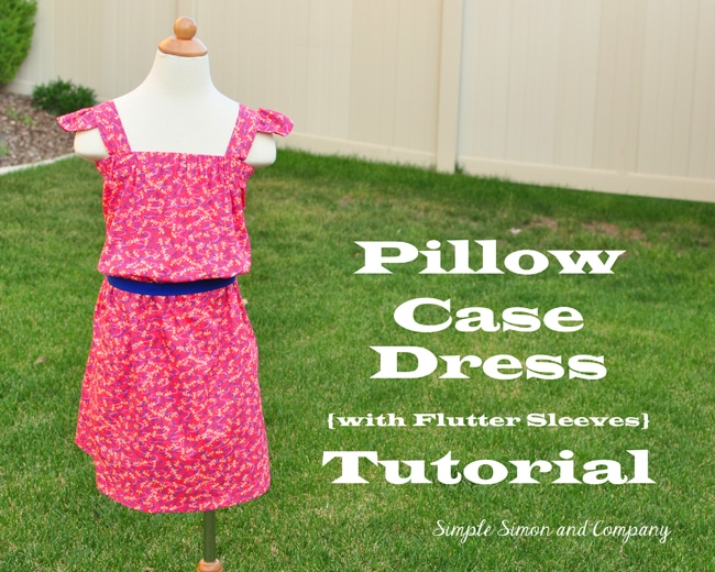 Sundress Series - Pillow Case Sundress Tutorial by Simple Simon \u0026 Co & Womens Pillowcase Dress - (30) Days of Sundresses - Melly Sews pillowsntoast.com