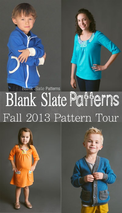 Blank Slate Patterns - PDF Sewing Patterns for Kids and Women