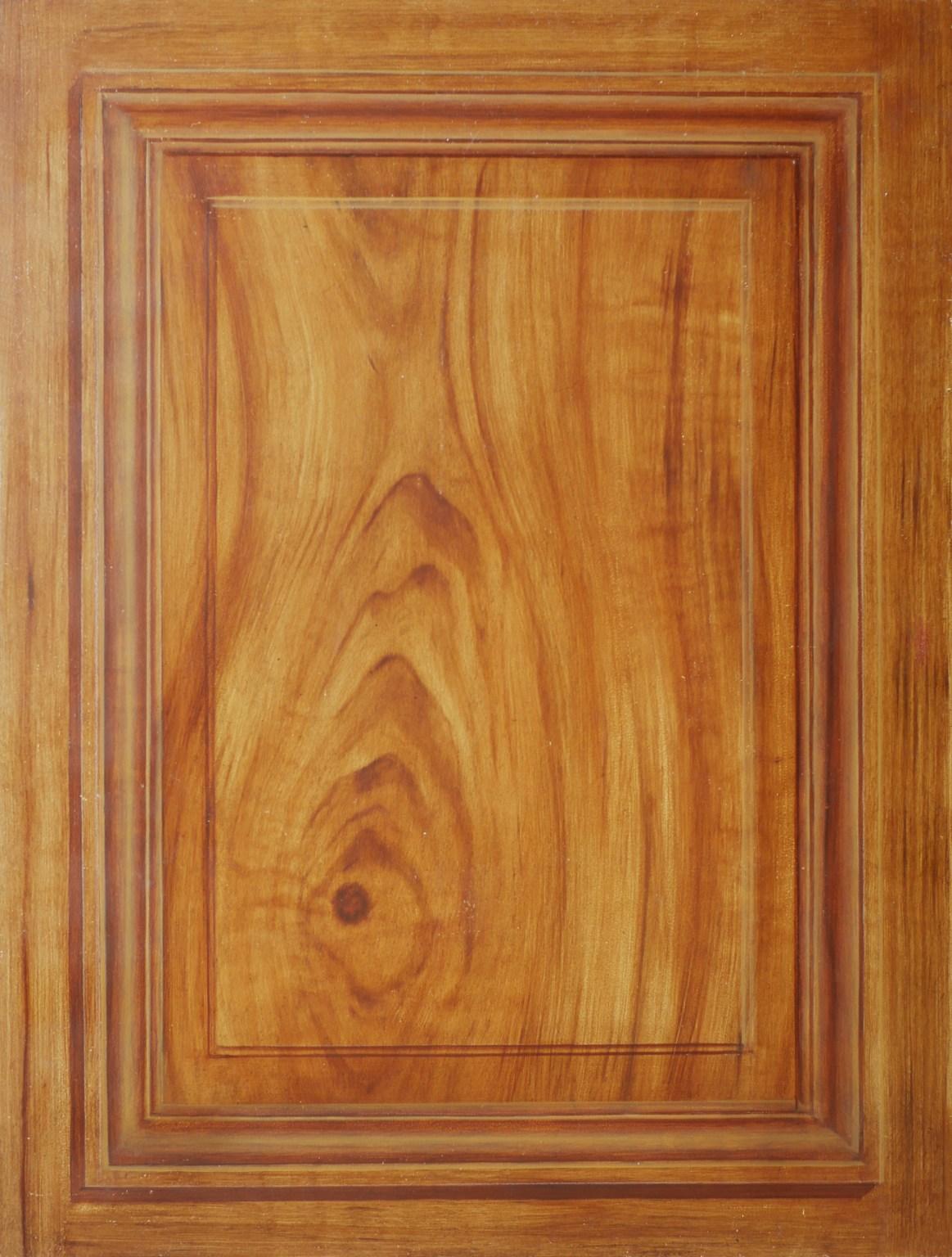 Décor imitation bois noyer, faux bois effet de matière. Assilem décors, peintre décoratrice, peintre en décor à Bordeaux