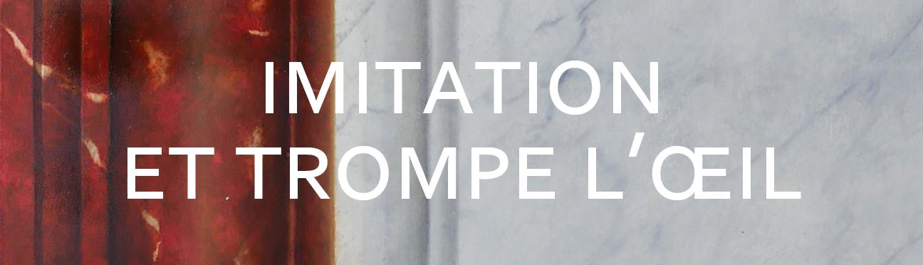 Peintre en décors Imitation et trompe l'oeil, effets de matière, Bordeaux et France
