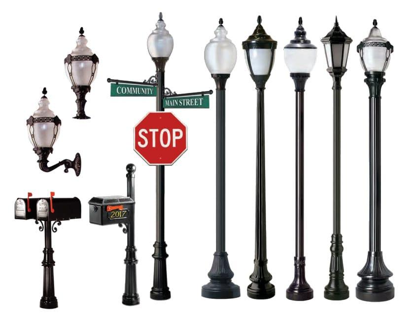 outdoor lighting victorian lampposts