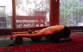 Foam Rolling Stretch