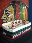 Chicago Blackhawks cake