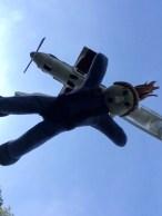 Skydiving cake