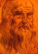Leo Da Vinci- redone with food coloring on fondant