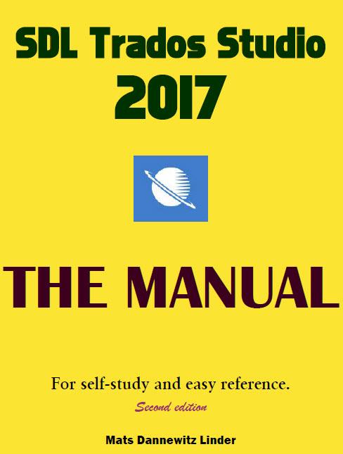 Portada del manual de SDL Trados Studio 2017