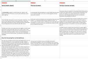 Cómo traducir hojas de Excel multilingües con herramientas TAO