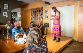 Iconoclast Poetry Open Mic at 10 Johnson Avenue July 12, 2018