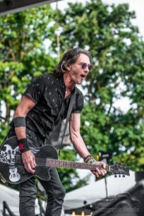 Rick Springfield electrifies Chevrolet Free Stage with exhilarating set opening day of the Indiana State Fair on Friday, August 3, 2018.