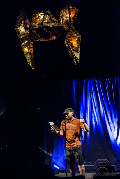Indianapolis Poetry Slam & Open Mic hosted by Dante Fratturo featuring Joseph Harris at the Irving Theater in Indianapolis, Indiana on September 20, 2018