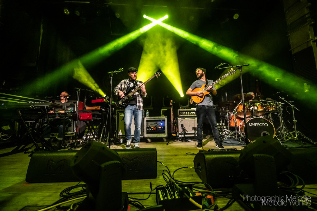 Spafford's Winter 2019 Tour Heats Up The Vogue