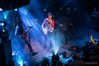 IndyMojo Presents The Infamous Stringdusters with Great Peacock was a luscious evening filled with heavenly harmonies at The Vogue Theatre on Wednesday, March 27, 2019. Photo cred Melodie Yvonne