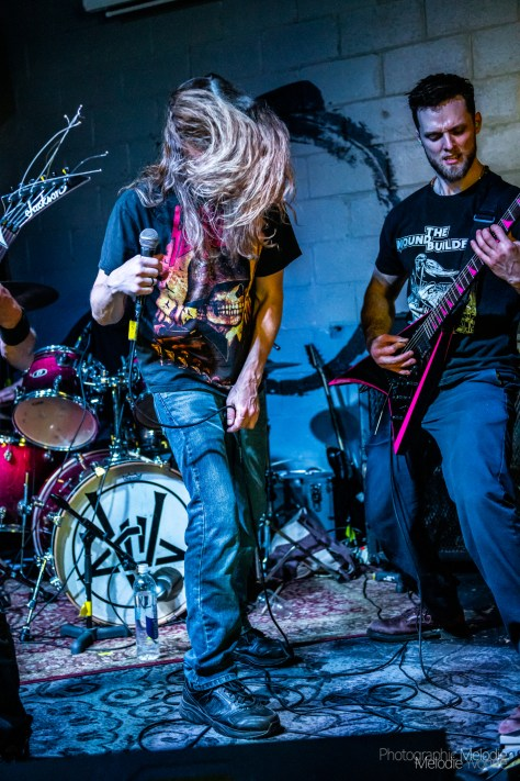 Lucifist lit up Black Circle Brewing Company with an electrifying set on Monday, May 6, 2019. Photo cred Melodie Yvonne