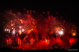 The Fourth of July fireworks display over Washington DC was a beautiful spectacle for everyone visiting Arlington Ridge Park on Thursday, July 4, 2019. Photo cred Melodie Yvonne