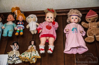 Vernie Long displayed her beautifully eclectic doll collection in her home in Lafayette, Indiana. Photo cred Melodie Yvonne circa summer 2016