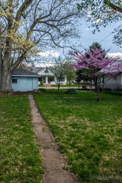 Vernie Long's house is as beautiful as the lovely spring day in Lafayette, Indiana on April 15, 2017. Photo cred Melodie Yvonne