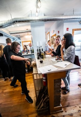 Spencer Farm recently took their business to the next level with the opening of their beautiful new winery and tasting room on Friday, September 27, 2019.