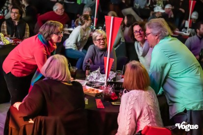 St. Joan of Arc celebrated with a beautiful night of Hambone's Trivia, food, and fun at The Vogue Theatre on Wednesday, January 22, 2020. Photo cred Melodie Yvonne