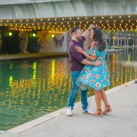 An Exciting Engagement Session Odyssey Along The Canal