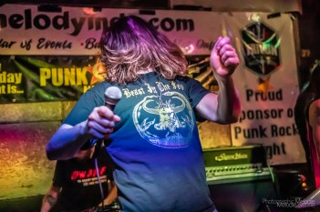 Punk Rock Night was once again an electrifying success with a powerfully galvanizing set from Lucifist at the Melody Inn in Indianapolis, Indiana on Saturday, April 10, 2021. Photo cred Melodie Yvonne