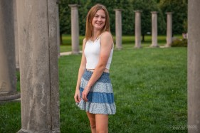 It was a beautiful summer evening for a senior pictures session throughout Indianapolis, Indiana. Photo cred Melodie Yvonne