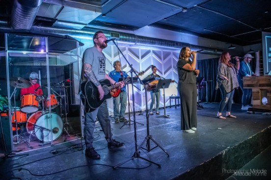 CItyLife Church delivered a beautiful message along with a powerful worship set in Greenwood, Indiana on Sunday, August 29, 2021. Photo cred Melodie Yvonne