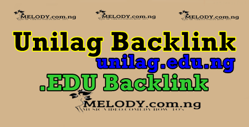 Backlink From Unilag.edu.ng