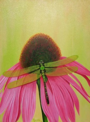 Dragonfly Series - Green - NFS • Prints Available