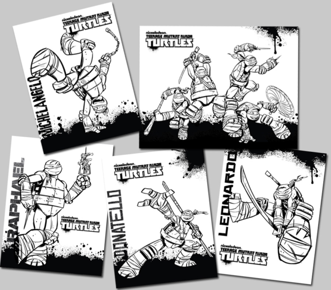 tmnt coloring pages nick unicorn head colouring pages page 2