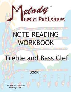 Note Reading Workbook Cover