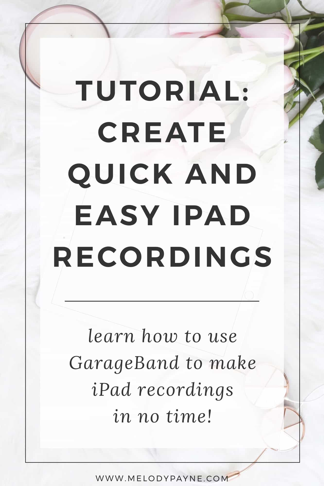 Garageband 101 how to create quick easy recordings on your ipad if you enjoyed this post use the sharing buttons below to spread the word baditri Images