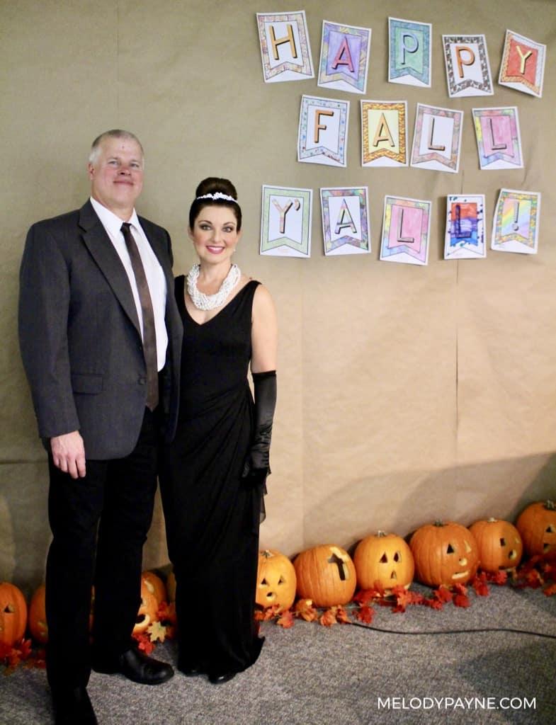 Melody & Greg Audrey Hepburn Recital Photo