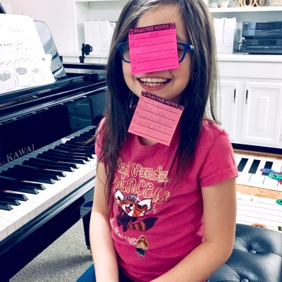 How to Use Printable Sticky Notes in Piano Lessons