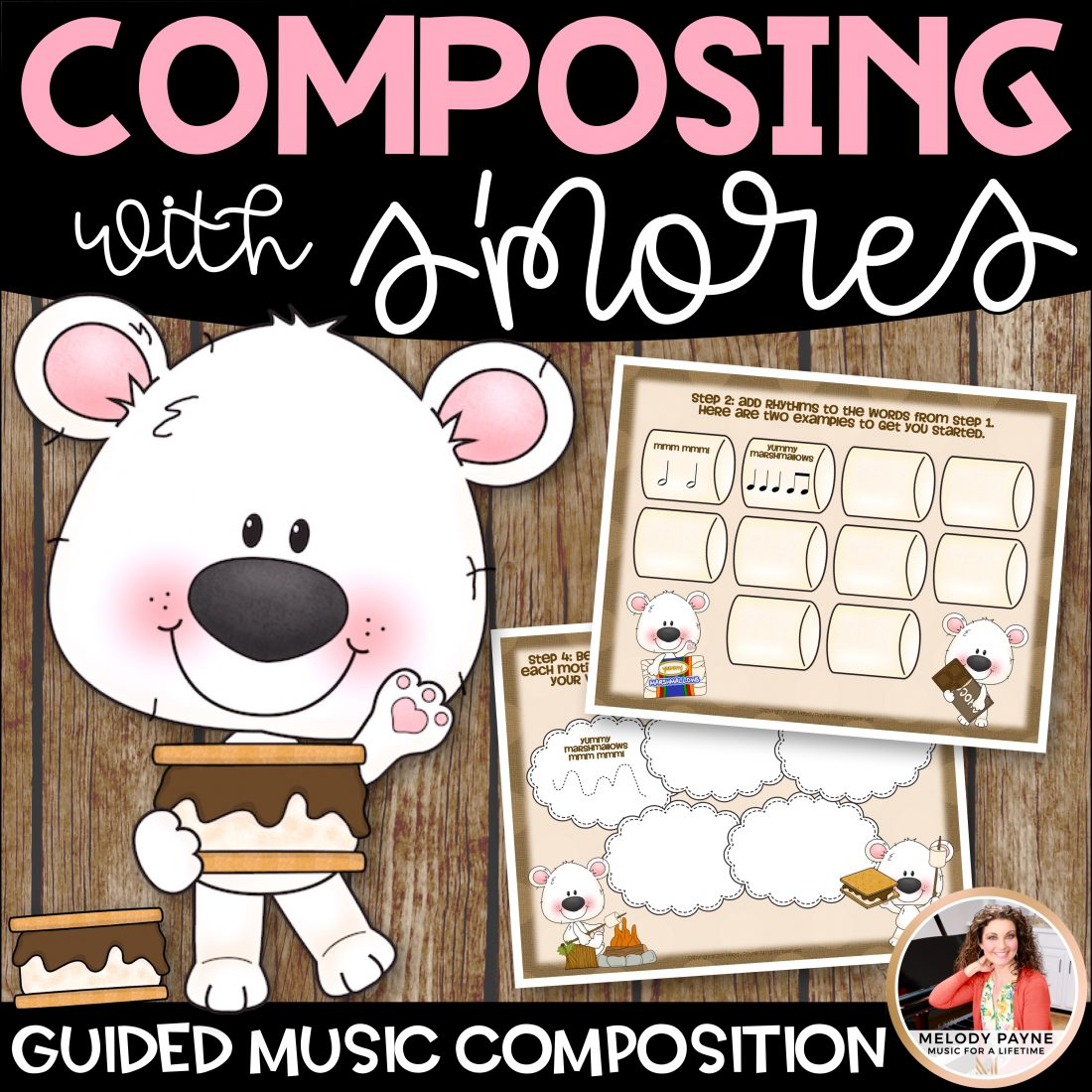 Composing With S Mores Guided Music Composition For