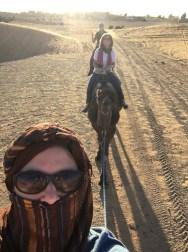 Desert trekking